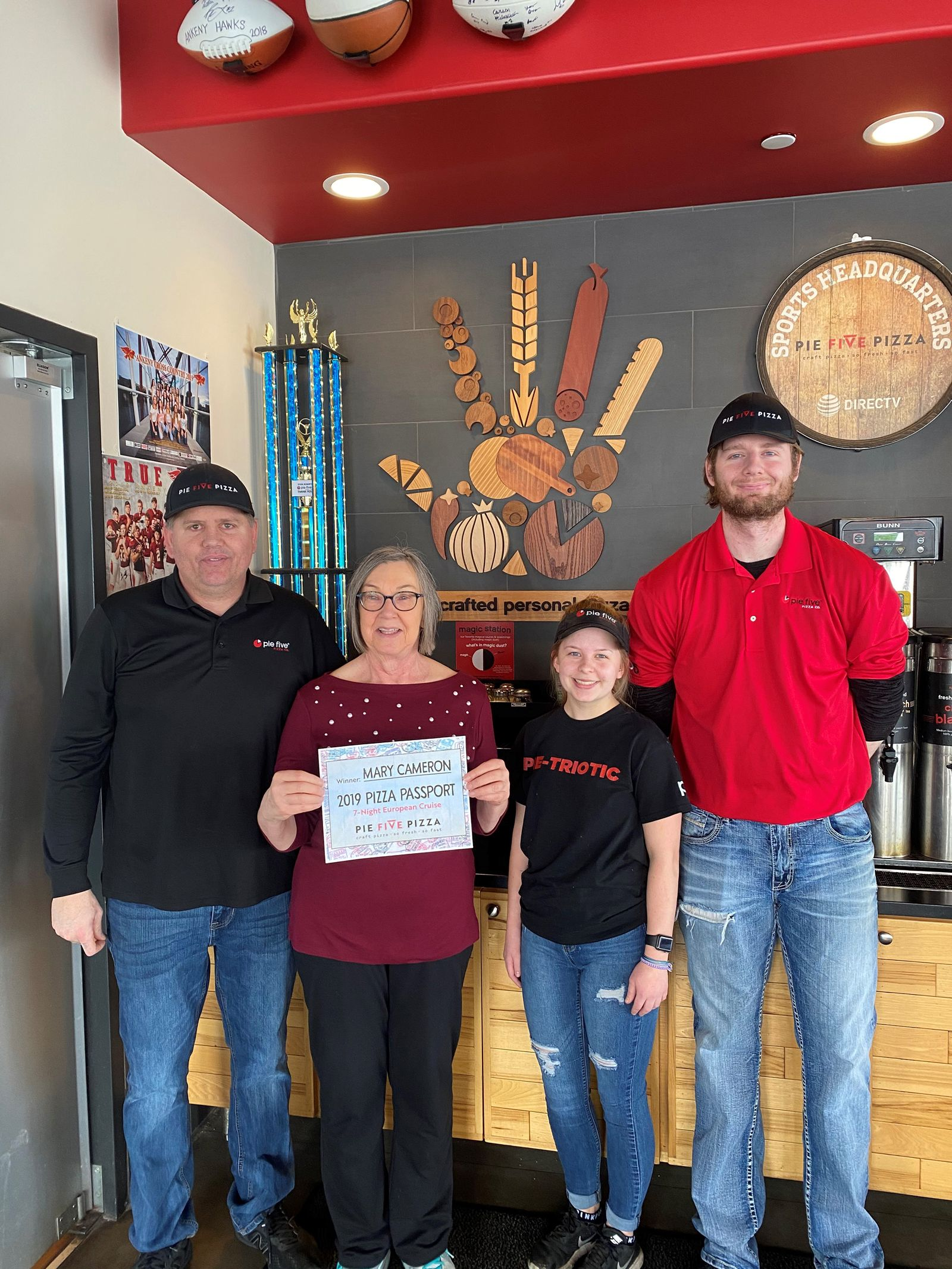 Local Resident Wins Pie Five's Pizza Passport Sweepstakes
