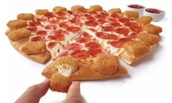 Pizza Hut's Mozzarella Poppers Pizza Takes America's Love Of Crust To The Next Level
