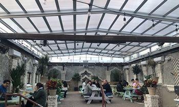 Roll-A-Cover's Retractable Restaurant Skylights Transform Restaurant Patios