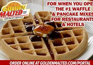 For When You Open – The #1 Waffle & Pancake Mixes for Restaurants & Hotels from Golden Malted, the World's Largest Mix Supplier