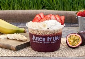 Juice It Up! Introduces New Antioxidant-Packed Acaí Bowl