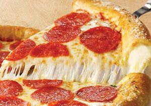 Pizza Inn's Triple Cheezy Stuffed Crust is Back for Delivery and Carryout