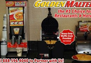 Serve America's Favorite Waffles with Golden Malted – #1 Waffle for Restaurants & Hotels