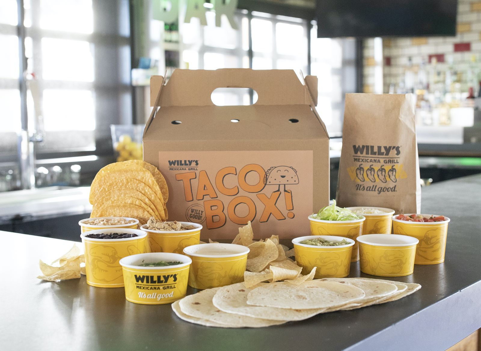 Willy's Mexicana Grill's New Take-Home Offer is Something to Taco 'Bout