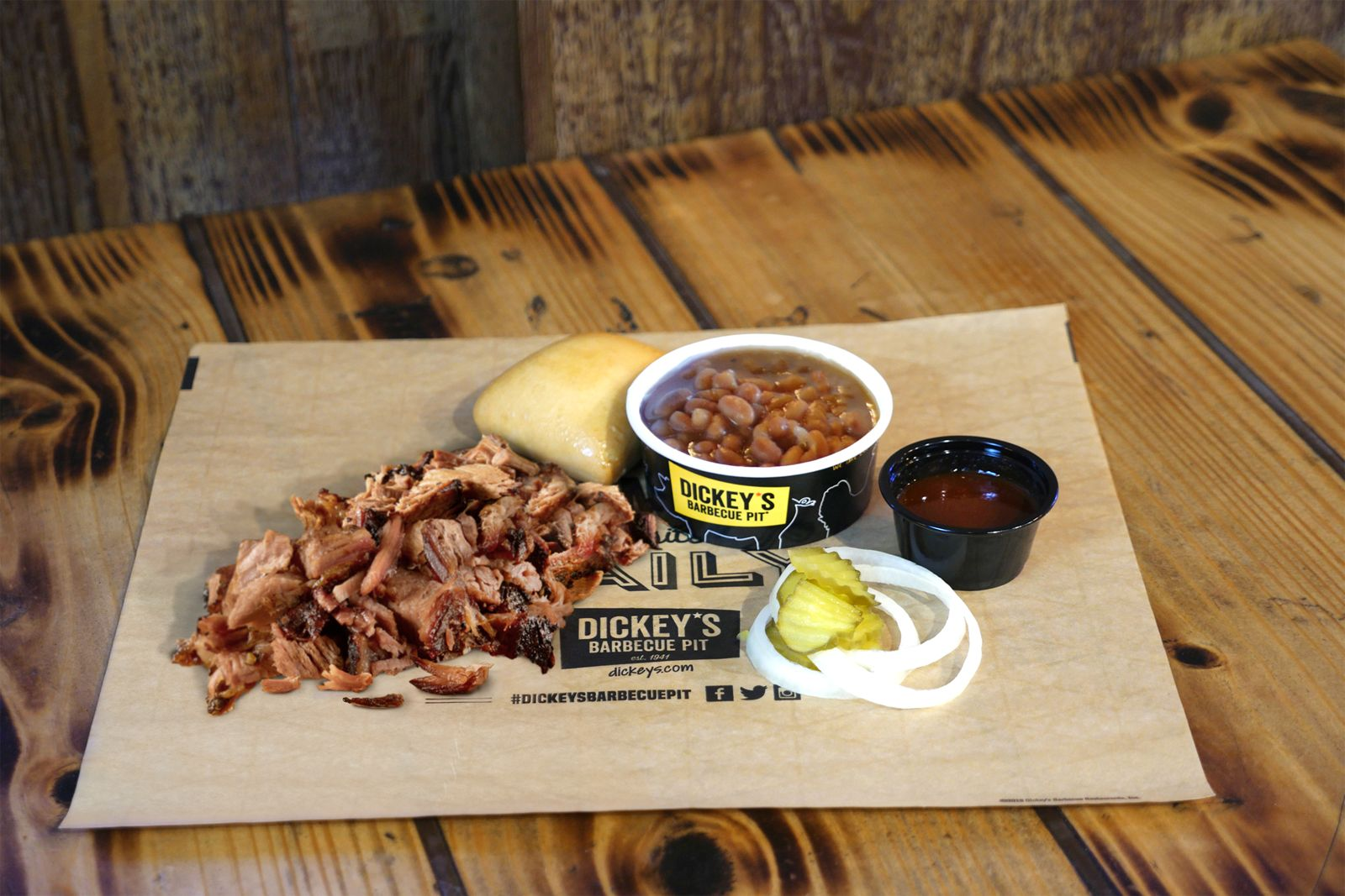 Dickey's Barbecue Pit award-winning chopped brisket