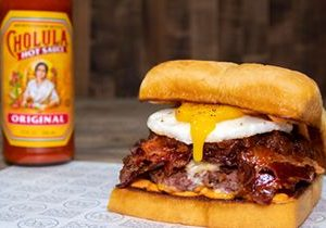 Dog Haus Turns Up the Heat with New OG Cholula Burger