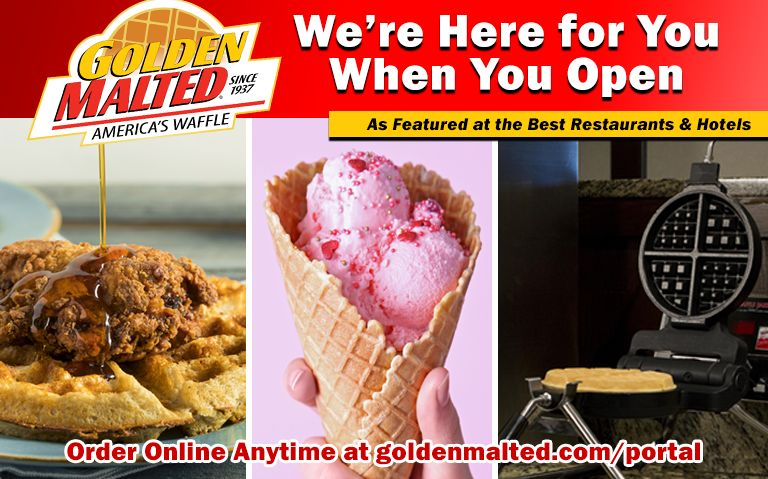 Golden Malted is Here When You Open - #1 Choice for Waffle & Pancake Mix