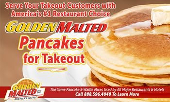 Serve Your Takeout Customers with America's #1 Restaurant Choice – Golden Malted Pancakes