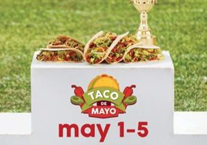 Taco John's Replaces Cinco de Mayo with a Five-Day Taco de Mayo Celebration
