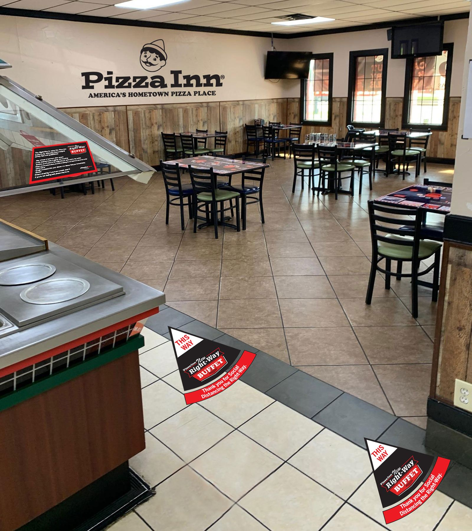Pizza Inn Introduces New Right-Way Buffet for Dine-In