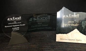 Restaurant Equipment Paradise Wins Three Prestigious Awards From the Excell Foodservice Equipment Dealer Network