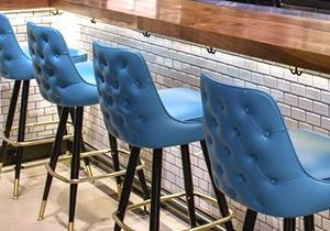 American Made Upholstered Bar Stools
