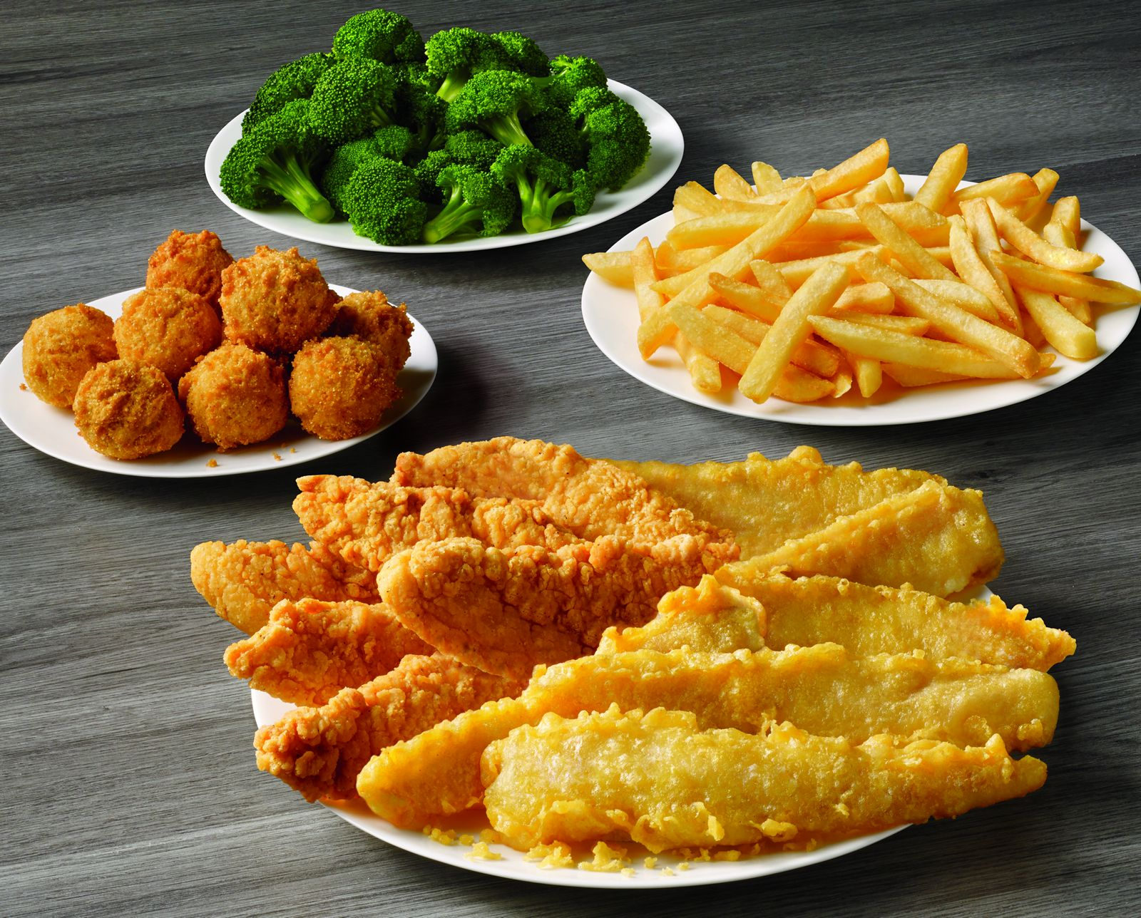 Captain D's Fish & Chicken Family Meal