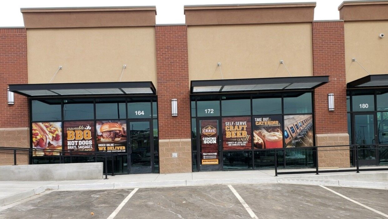 Crave Hot Dogs and BBQ Begins Building in Colorado Springs, CO