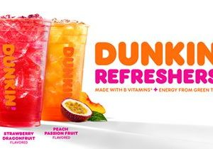Get Up and Glow with New Dunkin' Refreshers