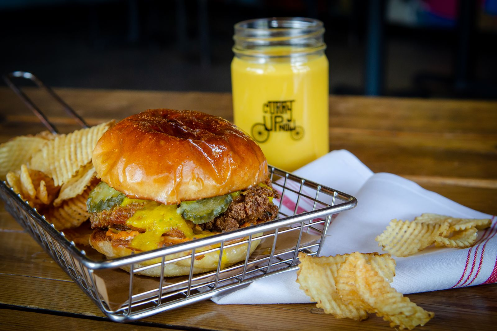 Innovative Indian fast casual concept, Curry Up Now, is entering the fried chicken game with the soft launch of its newest menu item, the Tandoori Fried Chicken Sandwich, at all Bay Area restaurants.