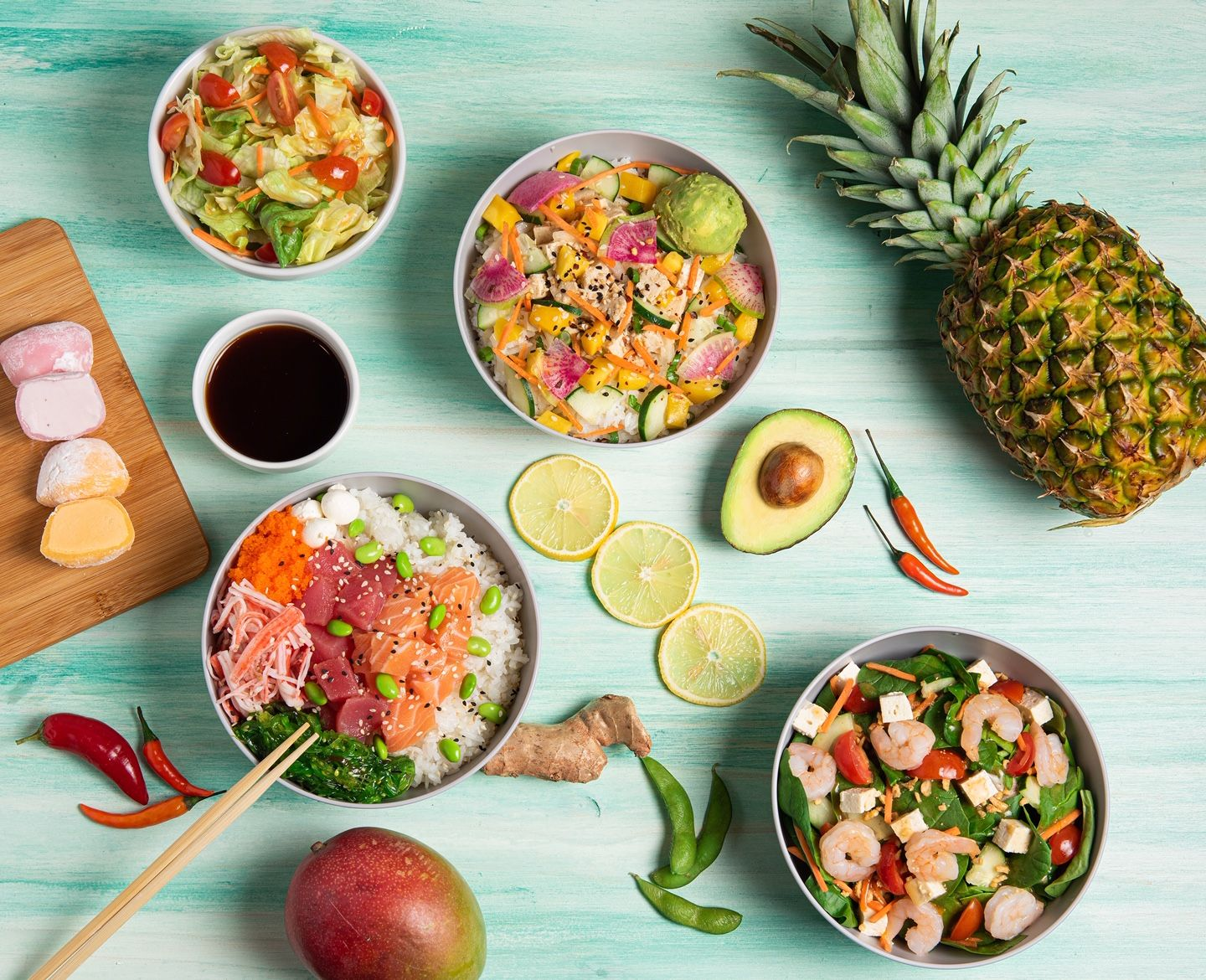Kona Poké Express Now Open In Miami