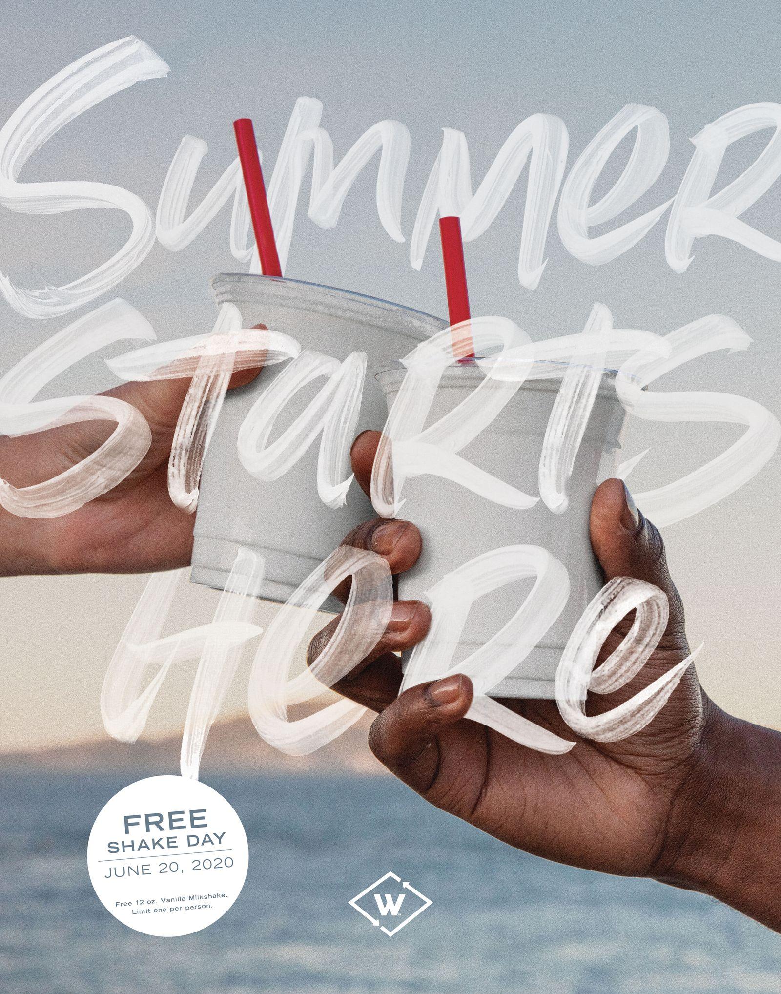 Wayback Burgers Kicks Off Summer with a Free Milkshake