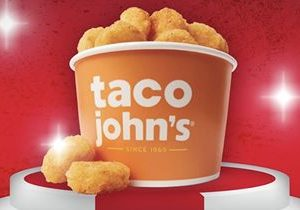 Celebrate National French Fry Day with Taco John's Superior Side Dish