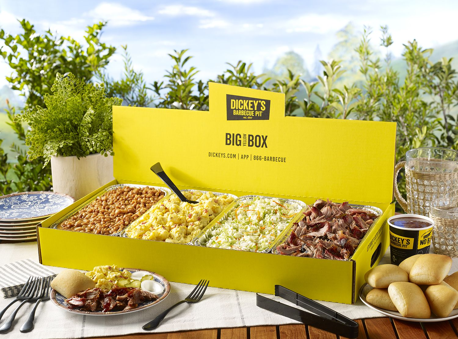 Dickey's Barbecue Pit Launches Big Yellow Box Catering Options