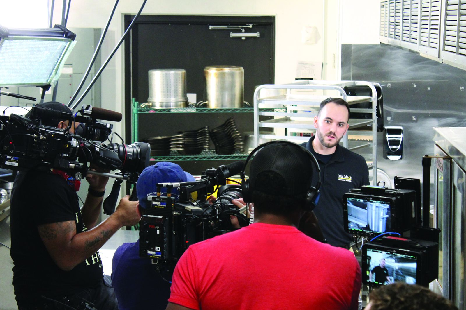 """Mark Murphy from Mr. Mac's Macaroni and Cheese featured on the Food Network's Food Paradise Show. The episode """"Seafood - Eat Food"""" will first air on July 22, 2020."""