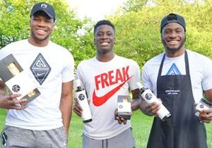 Pro Basketball Star Giannis Antetokounmpo Is Teaming Up with Top Greek Fast Casual Brand