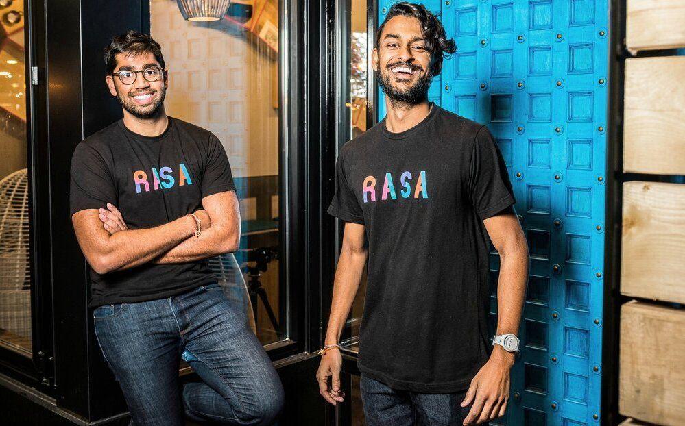 RASA founders RAhul Vinod and SAhil Rahman