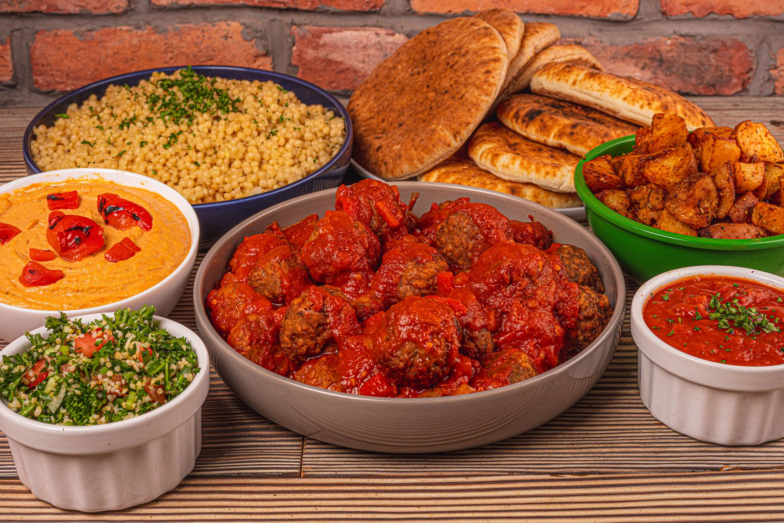 The Hummus & Pita Co. officially made the impossible possible with the addition of their 100% plant-based Vegan Moroccan Meatballs.