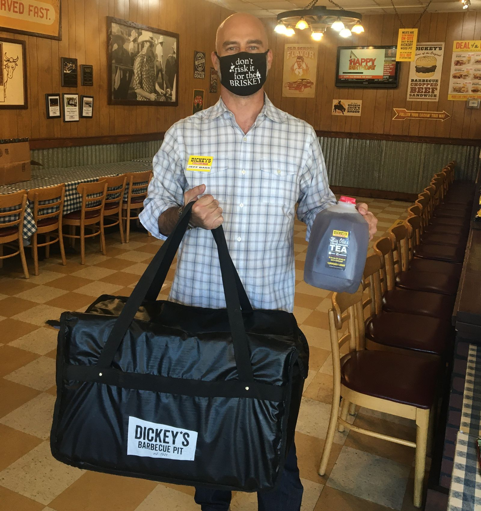 Dickey's Barbecue Pit Owner Operator Jeff Bass