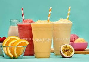 Juice It Up! Celebrates 25 Years the Old Fashioned Way