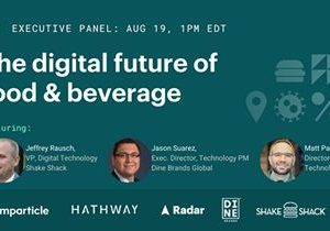 Webinar: The Digital Future of Food & Beverage – Register Now