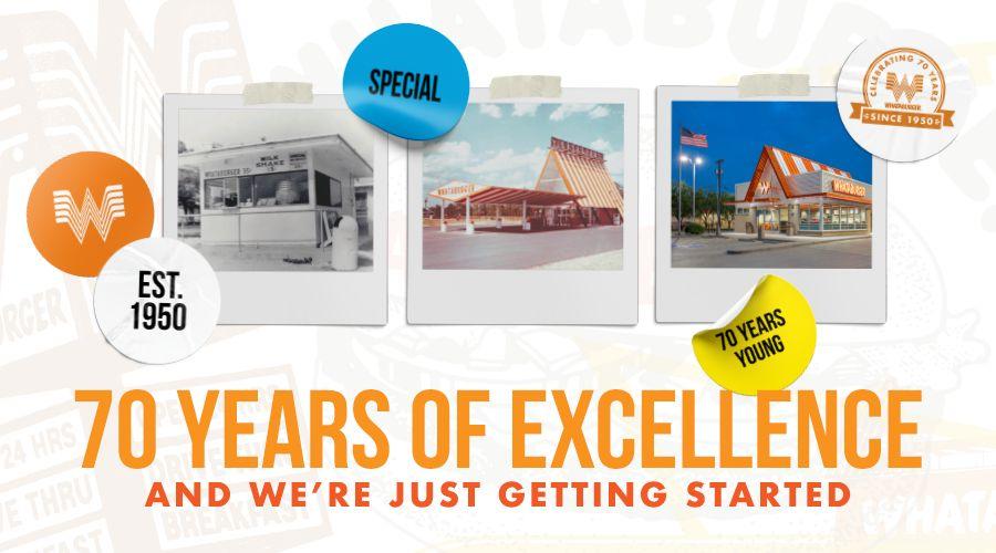 Whataburger Celebrates 70th Anniversary