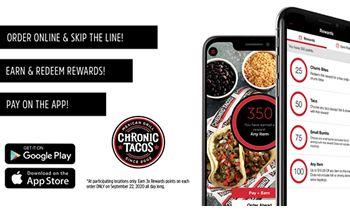 Chronic Tacos Celebrates Triple Rewards Day on September 22