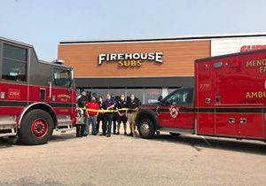 Former NFL Player and Local Restaurateur Team up to Reignite the Fire in Menomonee Falls With Firehouse Subs Opening