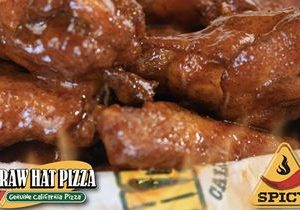 Nashville Hot Wings Now Available at Straw Hat Pizza