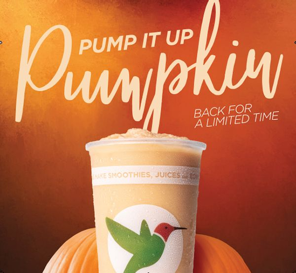 Robeks Pump-It-Up Pumpkin Smoothie