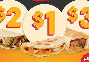 Taco John's Tests Bold New Valuest Menu