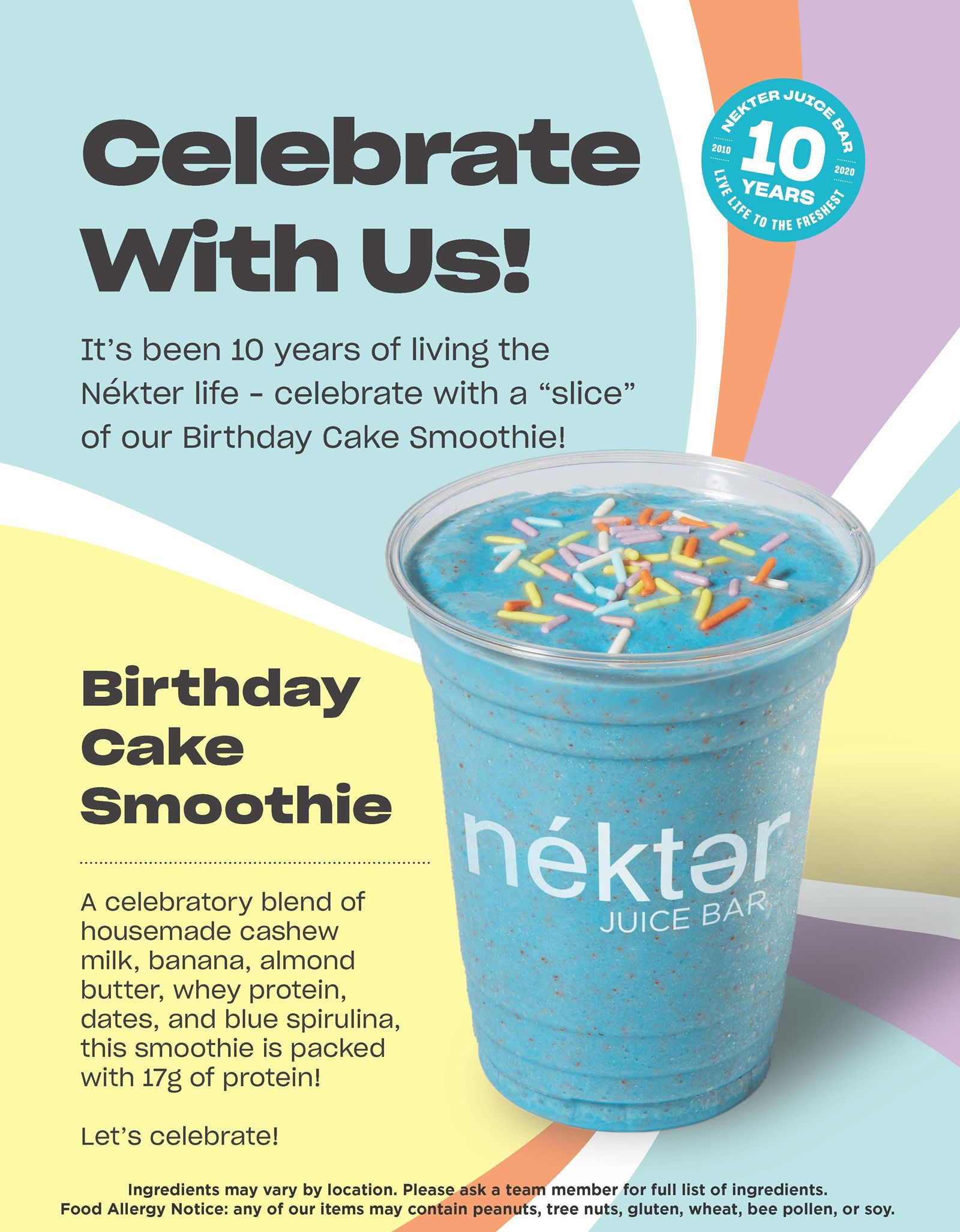 10 Years in the Making: Nékter Juice Bar Reigns as America's Freshest Juice Bar