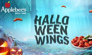 BOO! Applebee's Treats with a Monstrous Halloween Wings Deal