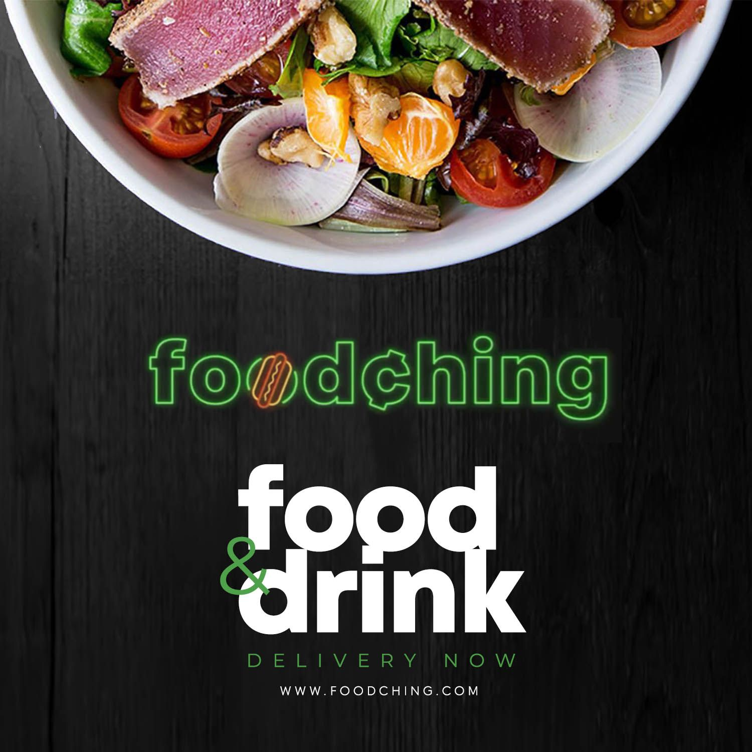 FoodChing Food and Drink Delivery Service Expanding Nationally
