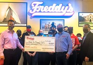 Freddy's Celebrates National Frozen Custard Day Promotion With $20,000 Donation to Kids In Need Foundation