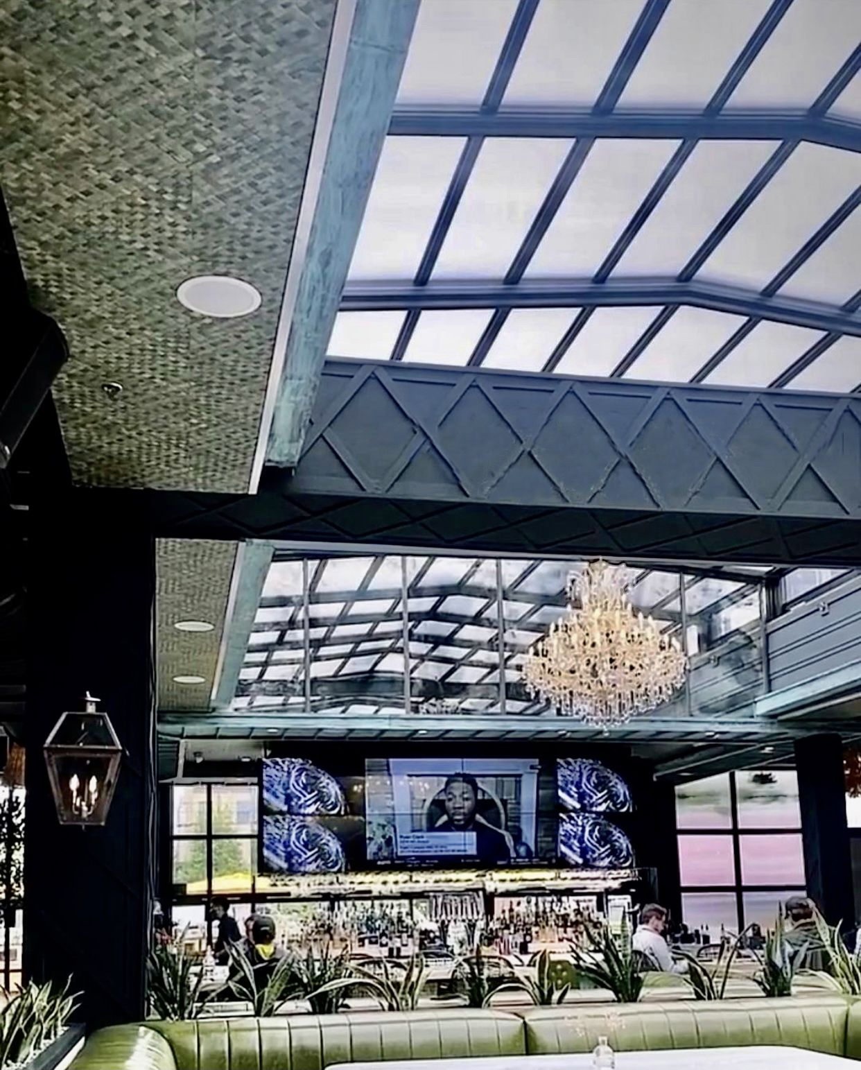 New Hotspot in Houston, The Sporting Club, Equipped with a Roll-A-Cover Retractable Roof