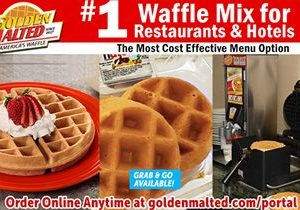 #1 Waffles for Restaurants – Serve Golden Malted Waffles – America's Favorite