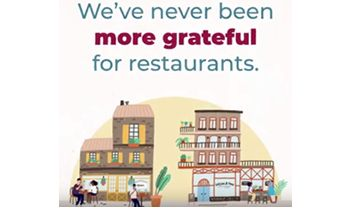 Restaurants Care Launches Monthlong 'The Grateful Table Dine Out'!
