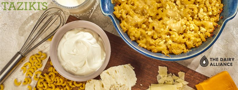 Taziki's Mediterranean Café Promotes New Item-3 Cheese Mac & Cheese This Fall