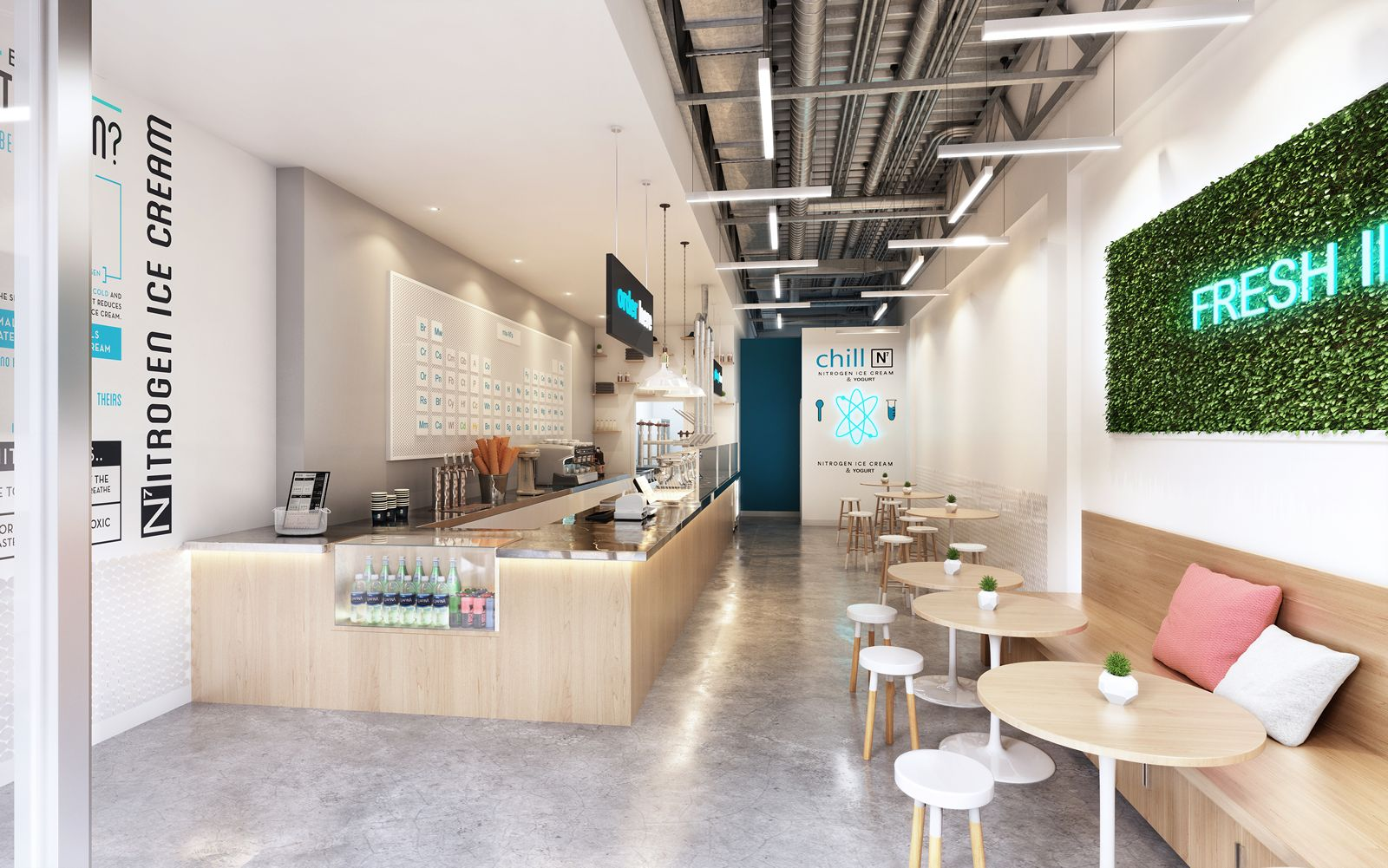 Chill-N Nitrogen Ice Cream Now Open in Coconut Grove