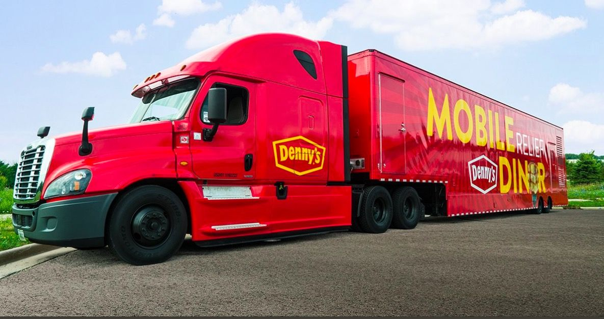 "Denny's Kicks Off Mobile Relief Diner ""Heroes Tour"" to Serve Hot Meals to Homeless Veterans in Need"
