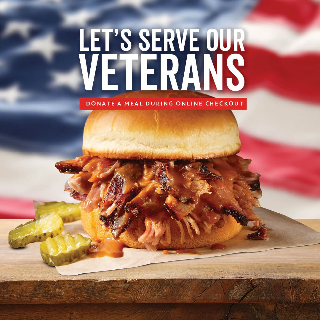 Dickey's Barbecue Pit Salutes Nation's Heroes with Food Donations and Special Offer this Veterans Day