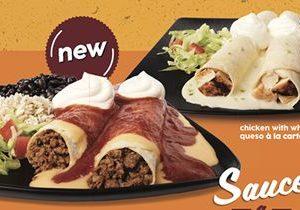Taco John's Debuts Bold New Sauce-A-Lotta Enchiladas