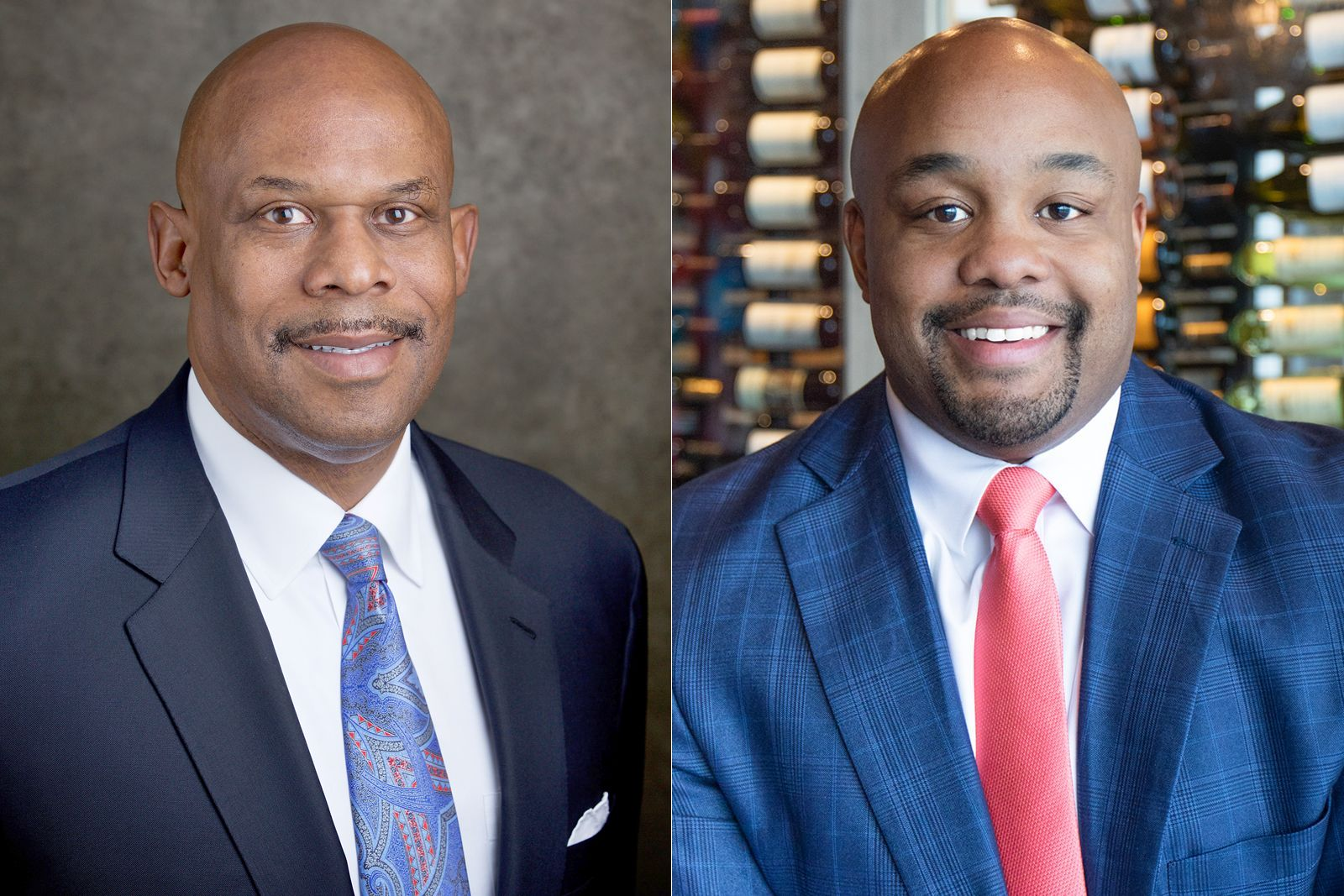 Warren Thompson (left) and Ron Jordan (right) are the hospitality professionals behind The Ridley, a new restaurant opening in Charlottesville, VA, to commemorate the life and legacy of Walter N. Ridley.